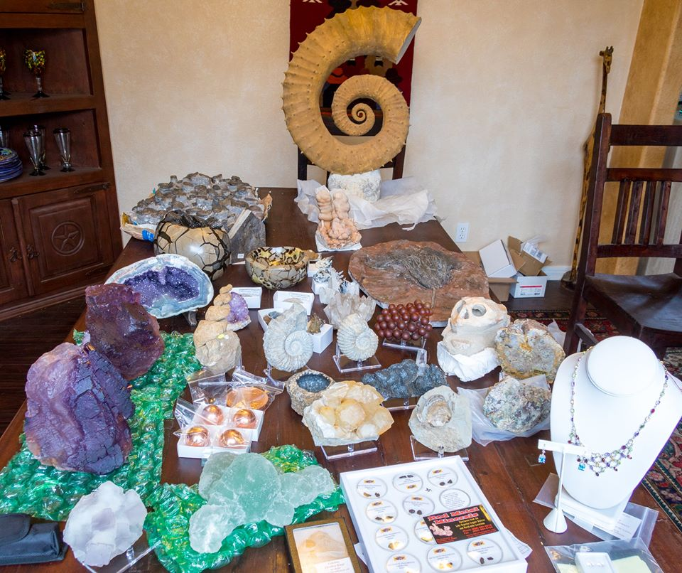Tuscon Gem and Mineral Show swag